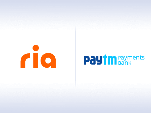Ria Money Transfer. paytm Payments Bank.